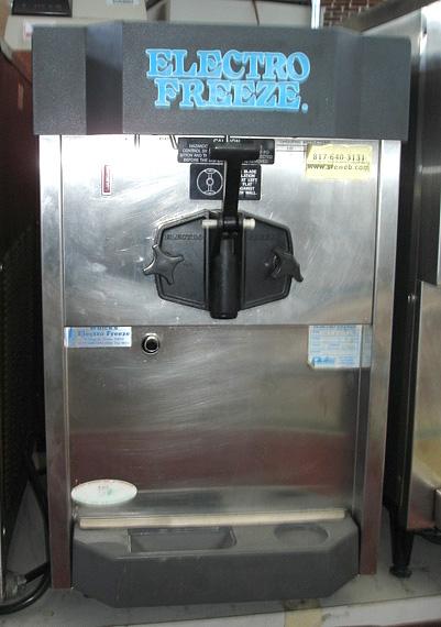 electro freeze machine