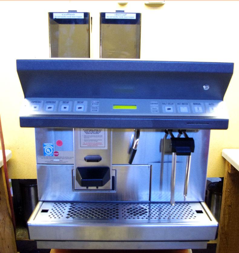thermoplan espresso machine